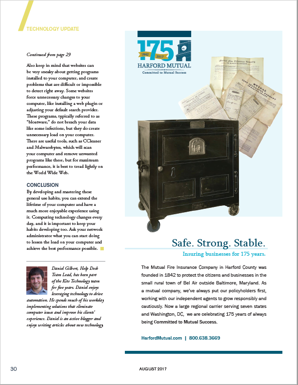 Article In The August 2017 Issue Of Primary Agent Magazine