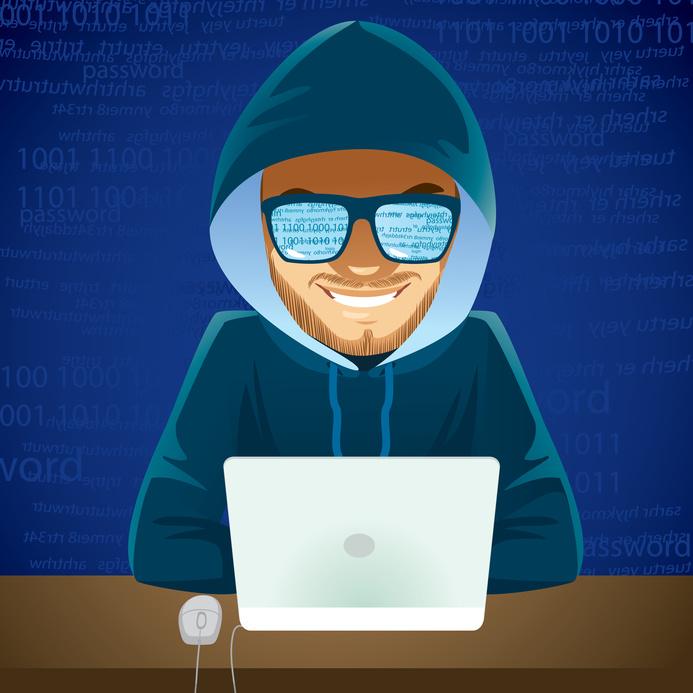 Hacker Laptop Cyber Criminal